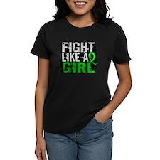 Fight Like a Girl 31.8 Lymphoma Tee