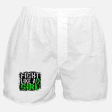 Licensed Fight Like a Girl 31.8 Lymph Boxer Shorts