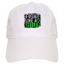 Licensed Fight Like a Girl 31.8 Lymphoma Baseball Cap