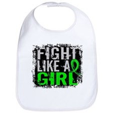 Fight Like a Girl 31.8 Lymphoma Bib