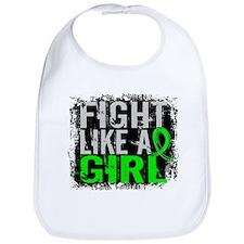 Licensed Fight Like a Girl 31.8 Lymphoma Bib