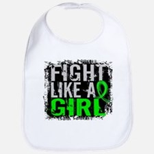 Licensed Fight Like a Girl 31.8 Lymphoma Bib