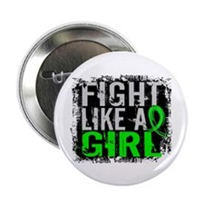"Licensed Fight Like a Girl 31.8 Lymph 2.25"" Button"