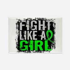 Licensed Fight Like a Girl 31.8 L Rectangle Magnet