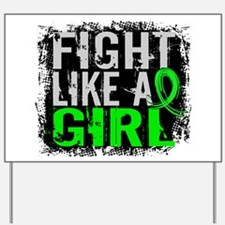 Licensed Fight Like a Girl 31.8 Lymphoma Yard Sign