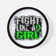 Licensed Fight Like a Girl 31.8 Lymphom Wall Clock