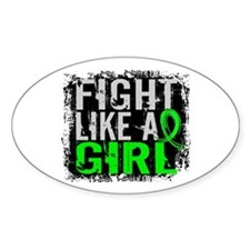 Licensed Fight Like a Girl 31 Decal