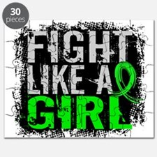 Licensed Fight Like a Girl 31.8 Lymphoma Puzzle