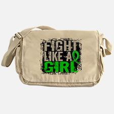 Licensed Fight Like a Girl 31.8 Lymp Messenger Bag