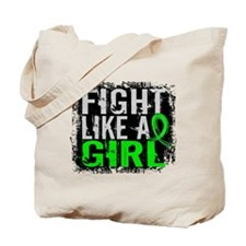 Fight Like a Girl 31.8 Lymphoma Tote Bag
