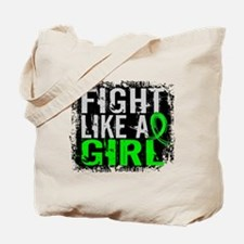 Licensed Fight Like a Girl 31.8 Lymphoma Tote Bag