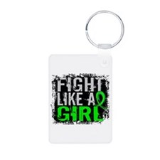 Licensed Fight Like a Girl Keychains