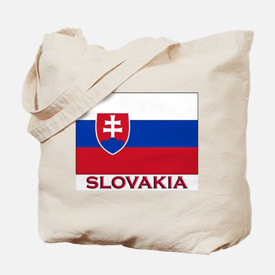 Slovakia Flag Stuff Tote Bag