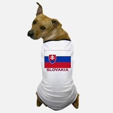 Slovakia Flag Stuff Dog T-Shirt