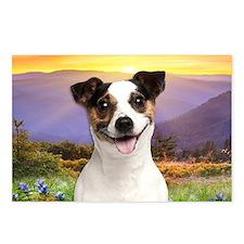 Jack Russell Meadow Postcards (Package of 8)