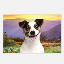 Jack Russell Meadow Postcards (Package of 8)
