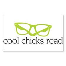 Cool Chicks Read Decal