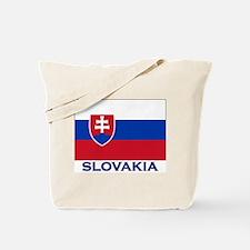 Slovakia Flag Gear Tote Bag
