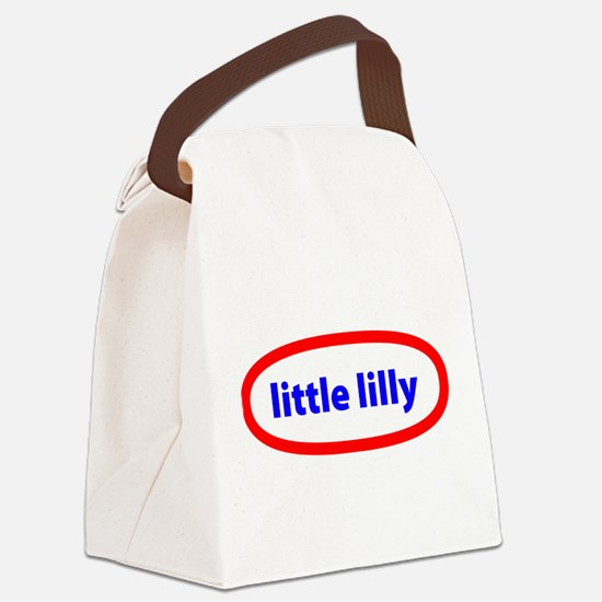 Little Lilly Canvas Lunch Bag