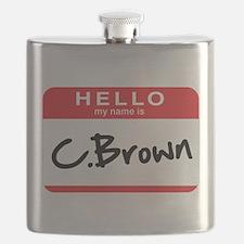 C. Brown Flask