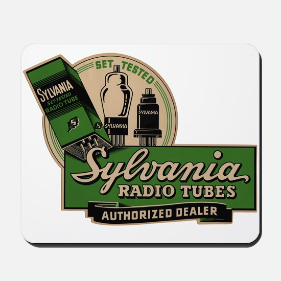Sylvania Radio Tubes Mousepad