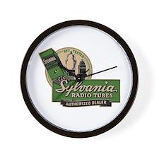Sylvania Radio Tubes Wall Clock