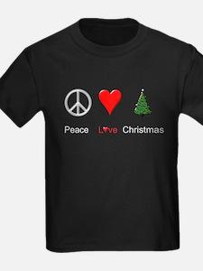 Peace Love Xmas T