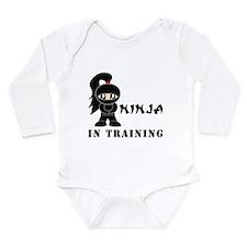 Girl Ninja In Training Body Suit