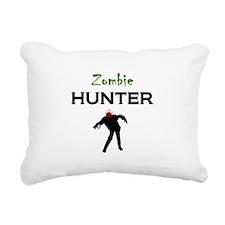 Zombie Hunter Rectangular Canvas Pillow