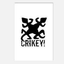 Crikey Crocodile Hunter Postcards (Package of 8)