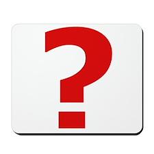 56 Question Mousepad