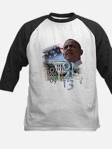 Obama's 2 Terms: Kids Baseball Jersey