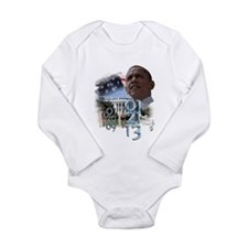 Obama's 2 Terms: Long Sleeve Infant Bodysuit