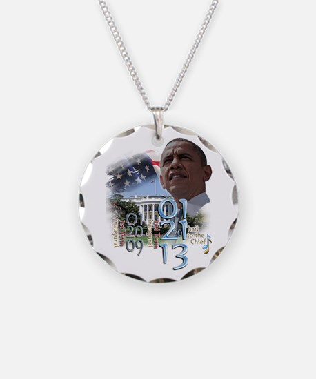 Obama's 2 Terms: Necklace