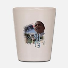 Obama's 2 Terms: Shot Glass