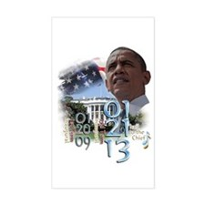Obama's 2 Terms: Decal