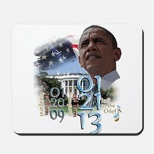 Obama's 2 Terms: Mousepad