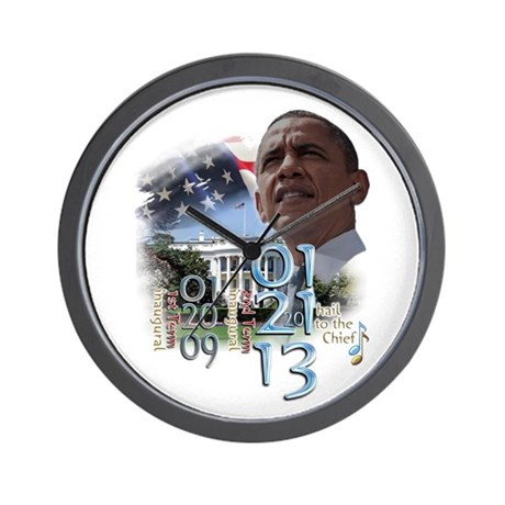 Obama's 2 Terms: Wall Clock