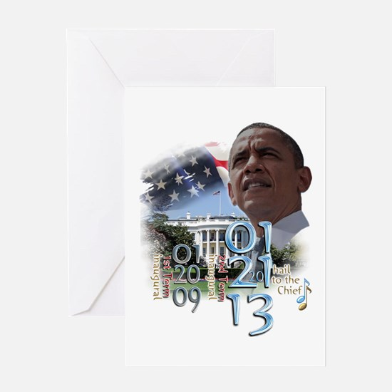 Obama's 2 Terms: Greeting Card