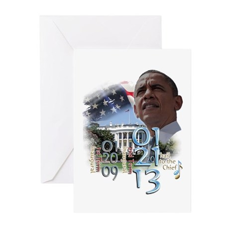 Obama's 2 Terms: Greeting Cards (Pk of 20)