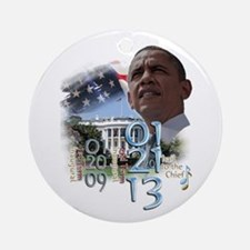 Obama's 2 Terms: Ornament (Round)