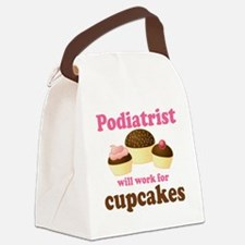 Podiatrist Funny Canvas Lunch Bag