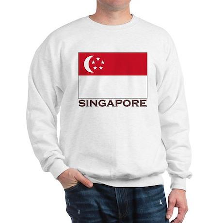 Flag of Singapore Sweatshirt