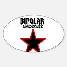 Bipolar awareness Sticker (Oval)
