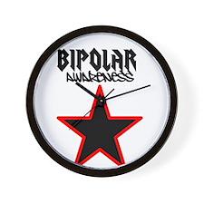 Bipolar awareness Wall Clock
