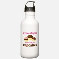Gynecologist Cupcakes Water Bottle