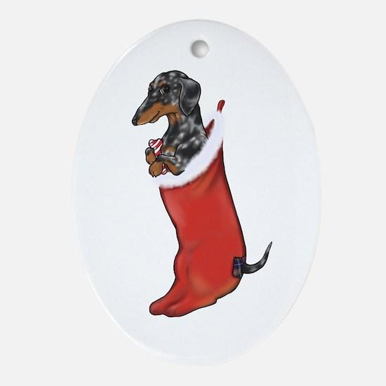 Dapple Christmas Ornament (Oval)