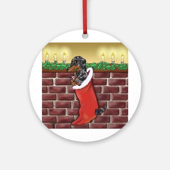 Dapple Christmas Ornament (Round)