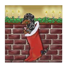 Dapple Christmas Tile Coaster