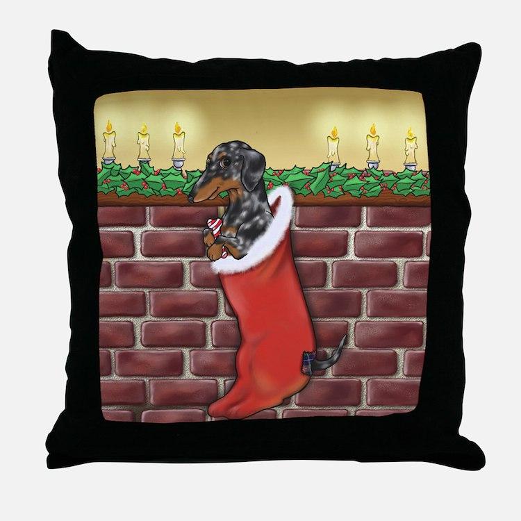Dapple Christmas Throw Pillow
